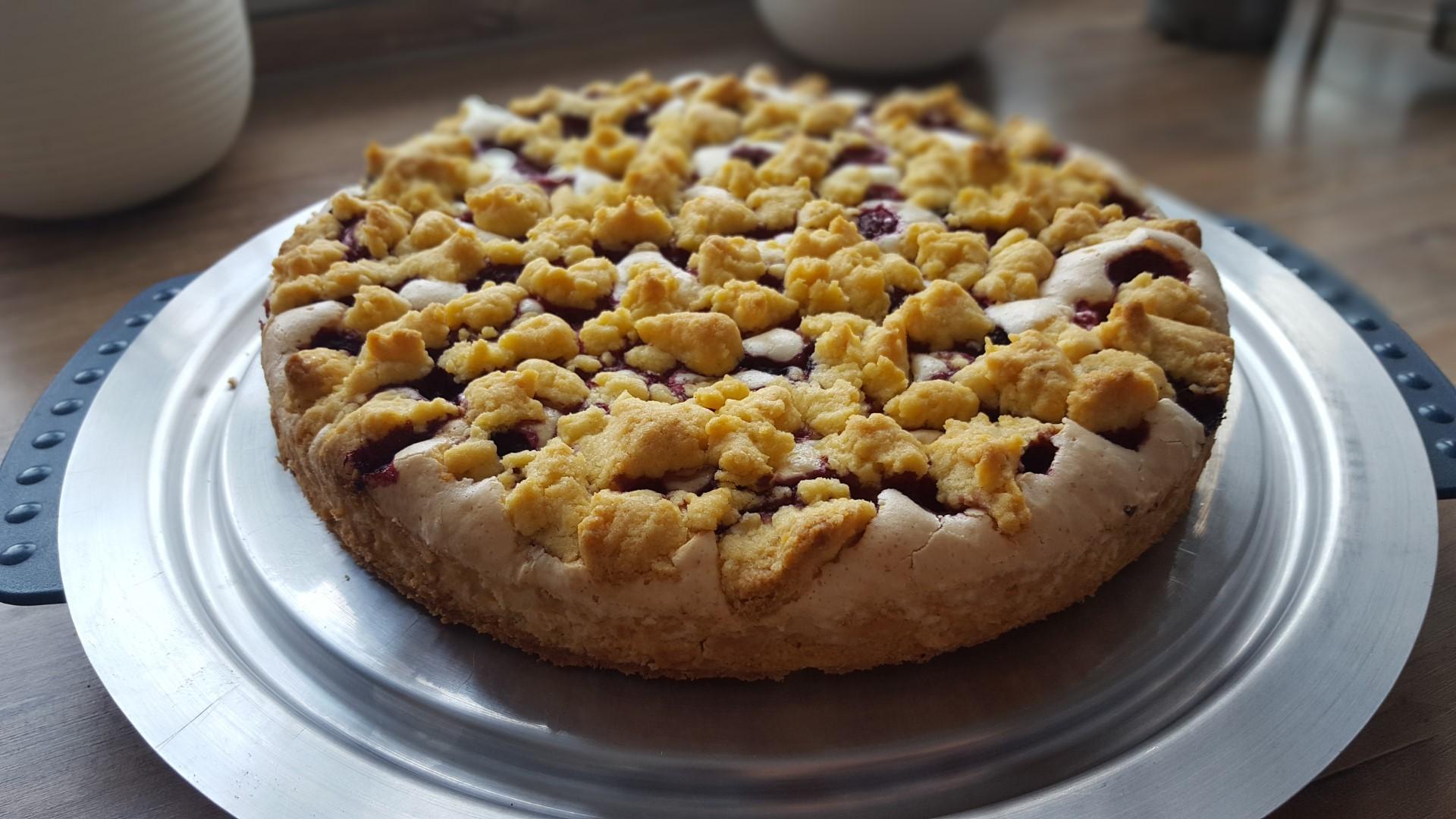 Himbeer-Vanillewölkchen Torte