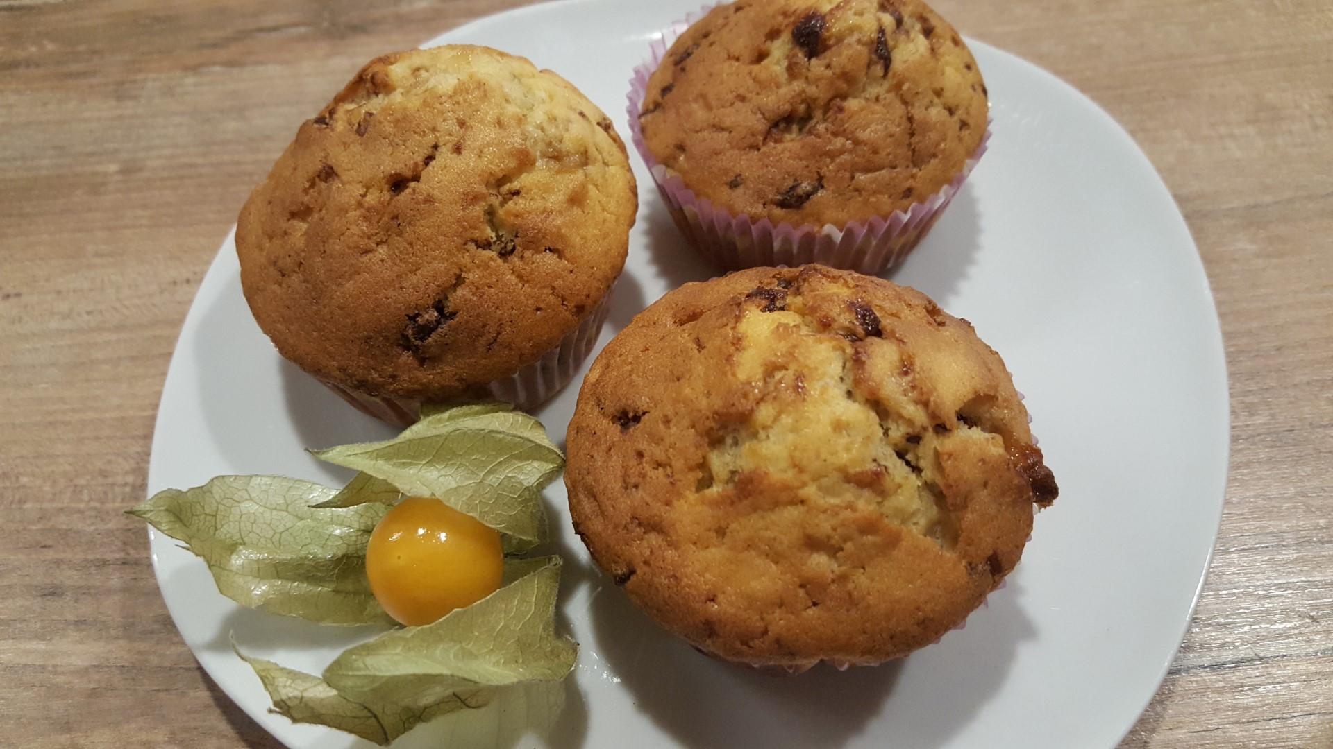 Triple Choc Muffins
