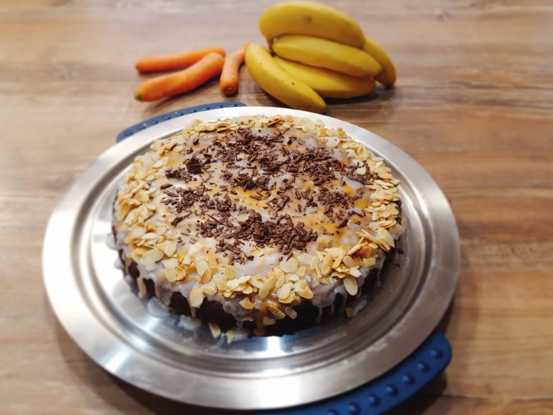 Banana Carrot Cake – Karottenkuchen mit Bananen