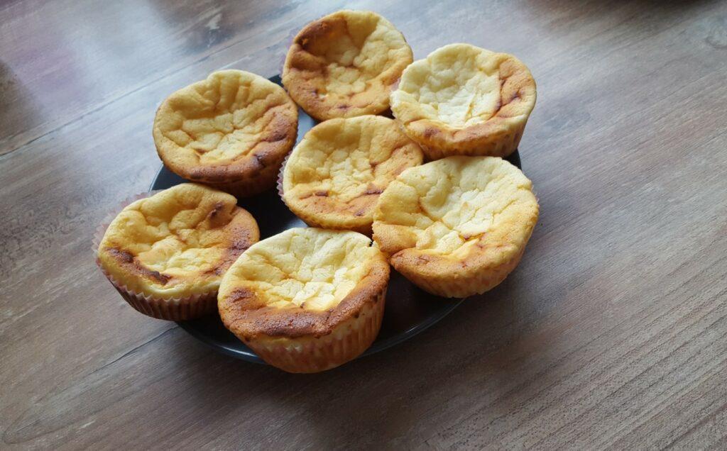 Käsekuchenmuffins - locker mit Quark gebacken