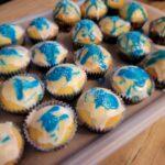 Frozen Muffins: nach Anna & Elsa Art